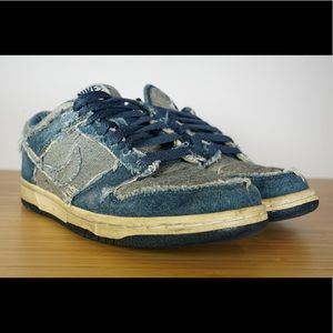 promo code 205fa 20824 Nike Shoes - Nike DS 2006 Dunk Low CL DENIM Size 5 304714-441